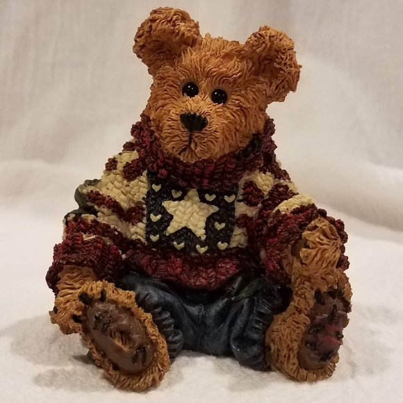 Boyds Eddie.. 'Proud To Be A Bearmerican' figurine